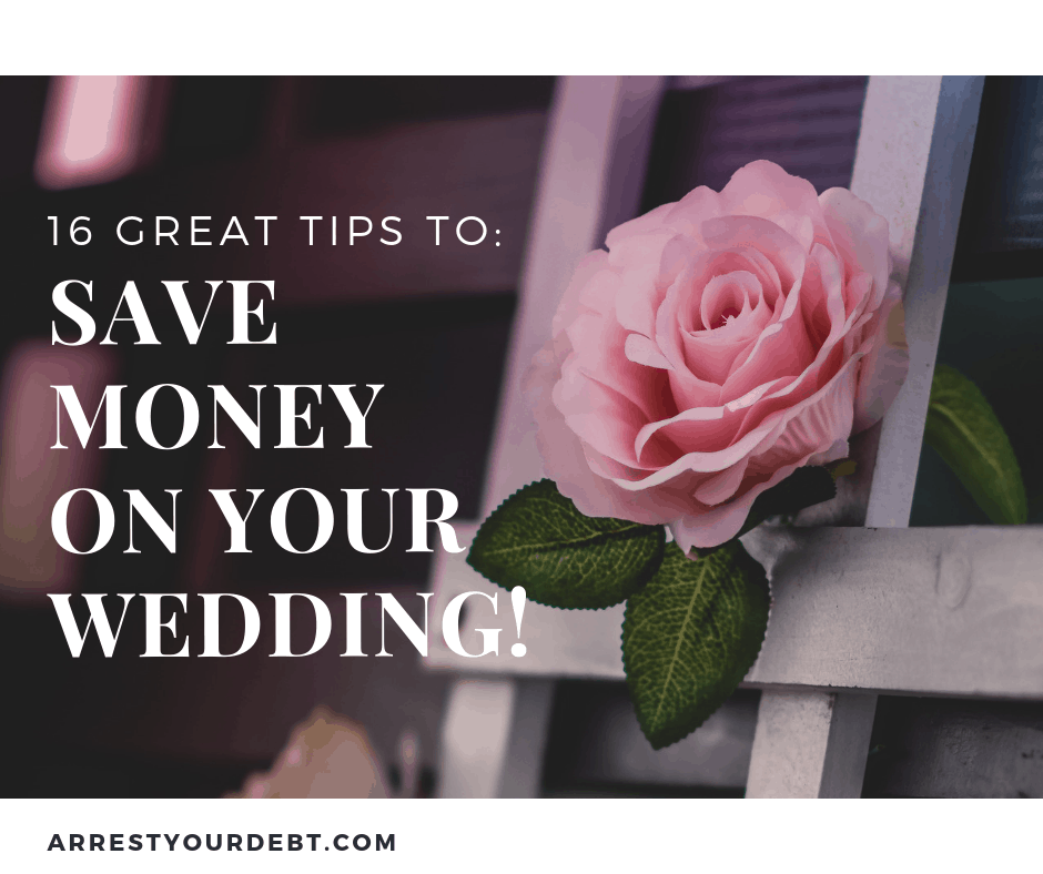 16 great tips to save money on your wedding!