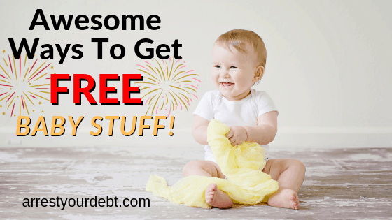 awesome ways to get free baby stuff