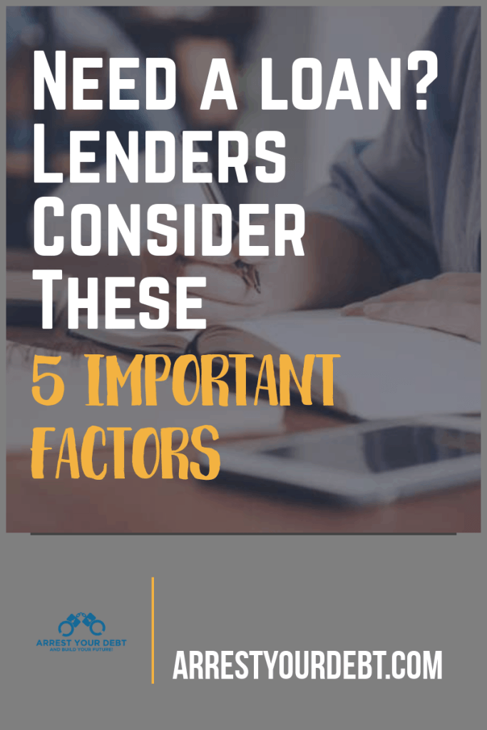 need a loan? consider these 5 factors