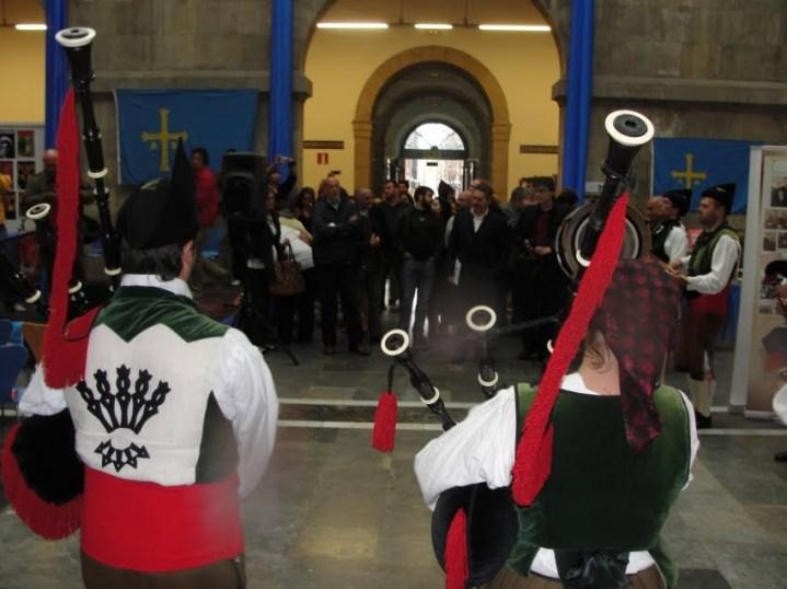 ARRIBADA 2009. Día 19 de setiembre. Pasacais y llegada al Antiguu Institutu