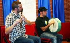 >ARRIBADA 2010 (22 de setiembre): Actuación del grupu De mandilín