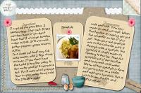 Spaetzle recipe card