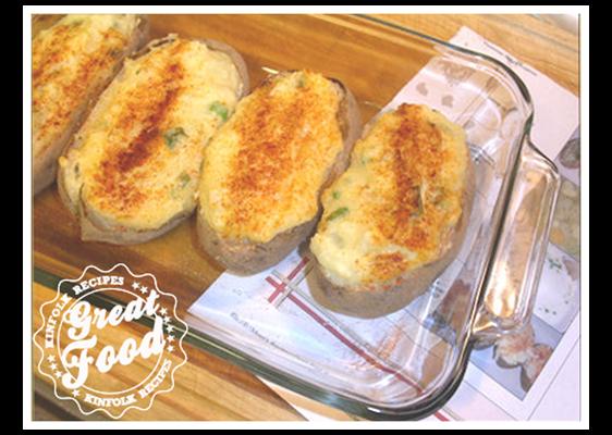 Potato, Parmesan Baked