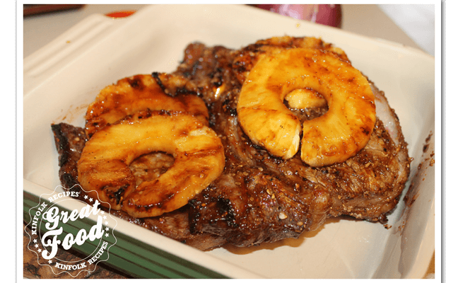 LongHorn Steak Hawaiian Rib Eye Steak