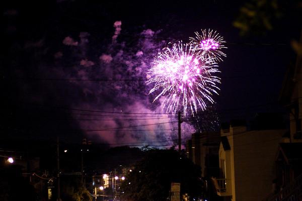 Fireworks for SF Giants Over Golden Gate Park