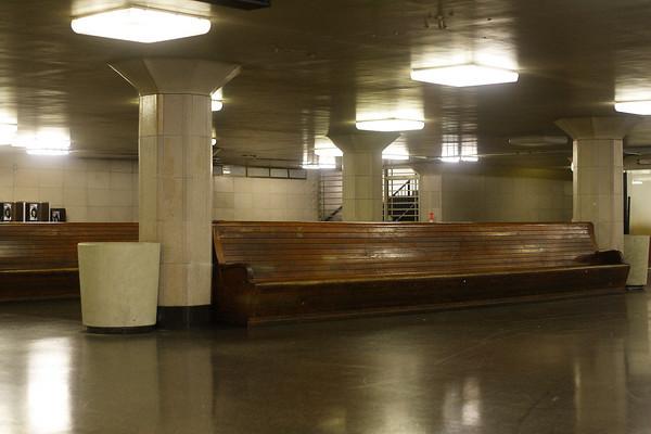 Transbay Transit Terminal waiting area