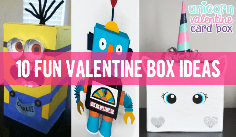 Fun Unique Valentine Boxes for School