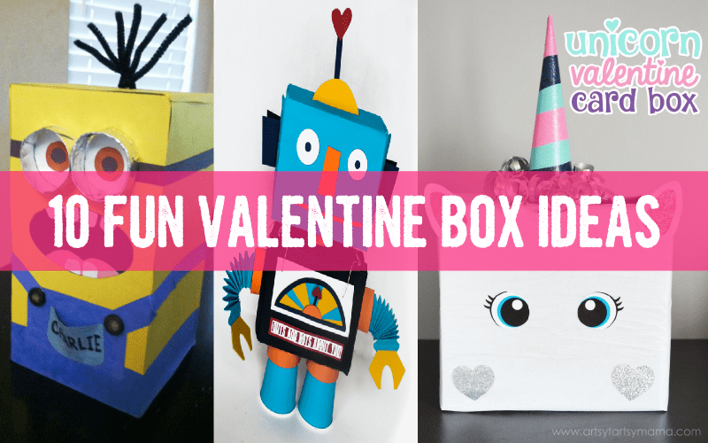 Fun Unique Valentine Boxes For School