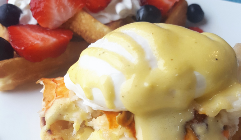 Lobster Eggs Benedict