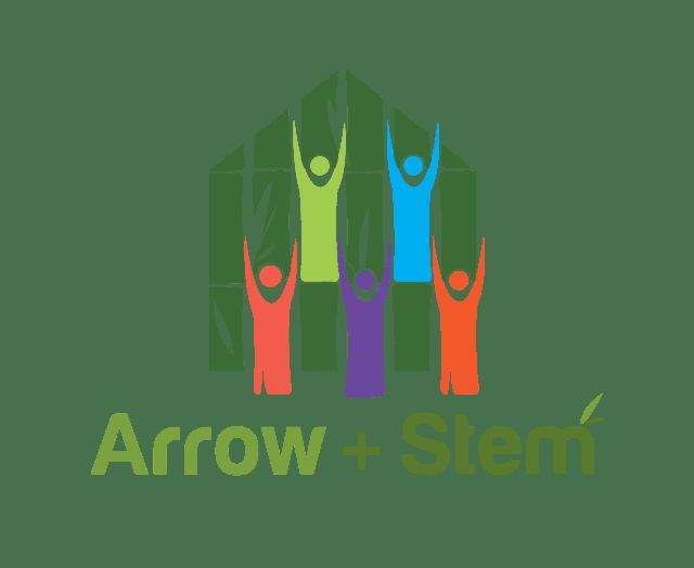 arrow and stem logo