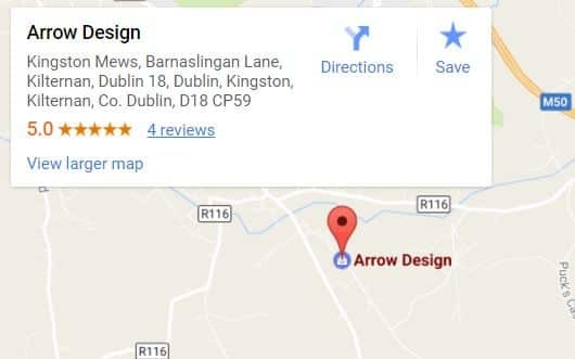 Arrow Design Contact Details
