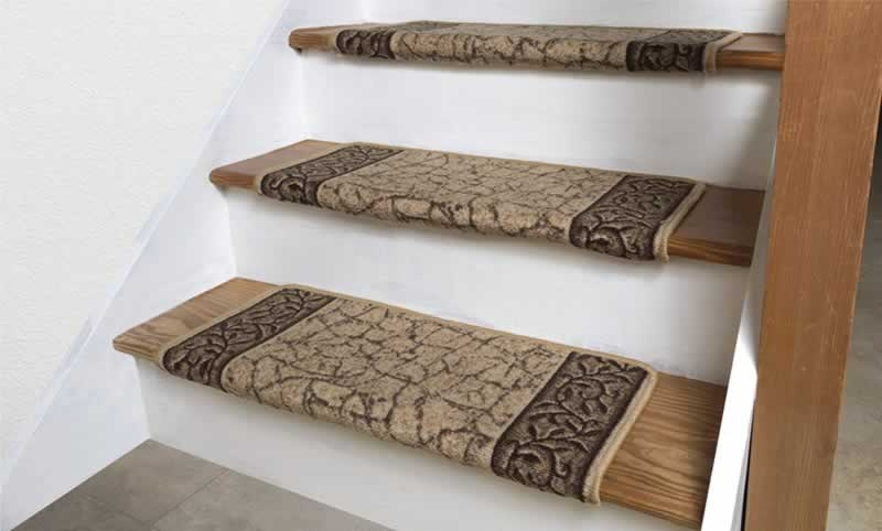 How To Install Carpet Stair Treads On Your Staircase Arrow | Carpet Treads For Steps | Laminate | Interior | Basement Stair Carpet | Double Thickness Tread | Turquoise