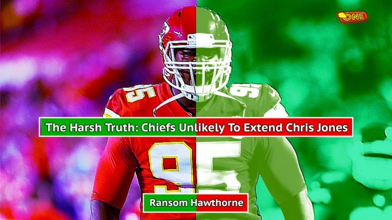 check out 1cc2b 53299 The Harsh Truth: Chiefs Unlikely To Extend Chris Jones