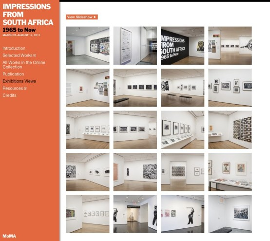 MoMA - Impressions from South Africa - 1
