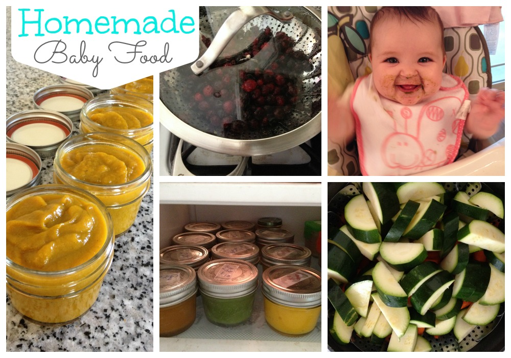 Comparing the cost of making baby food to the cost of buying it. Plus, some of Squeaks favorite baby food recipes. #homemadebabyfood #babyfoodrecipes