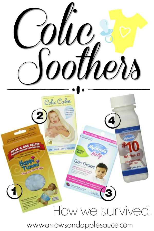 We made it through the baby colic months! Now that we're on the other side, I want to share some colic soothers that worked for us in hopes of helping fellow parents.