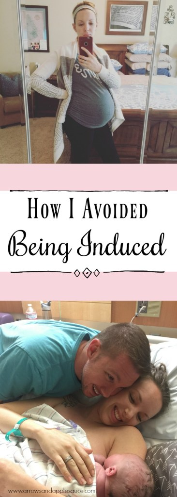 How I avoided being induced. Click to learn four tips to avoid induction. Simple ways I prepared my body for a natural birth.