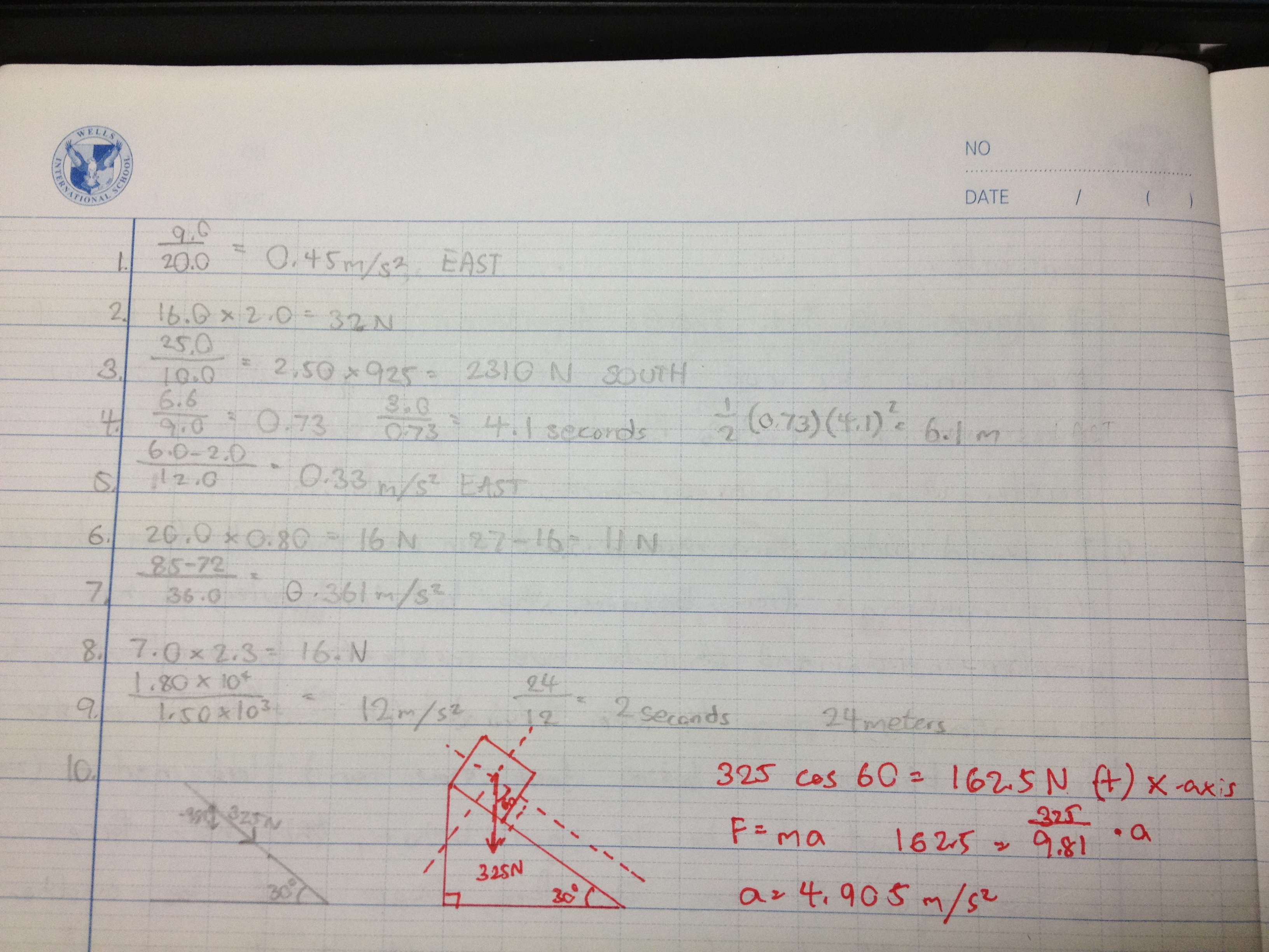 Newton S 2nd Law Of Motion Worksheet