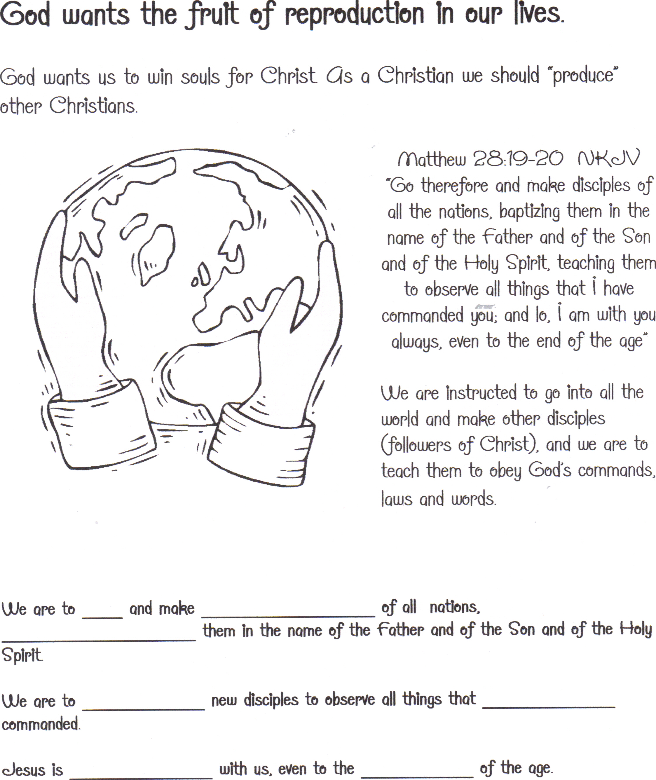 Abiding In Christ Children S Booklet