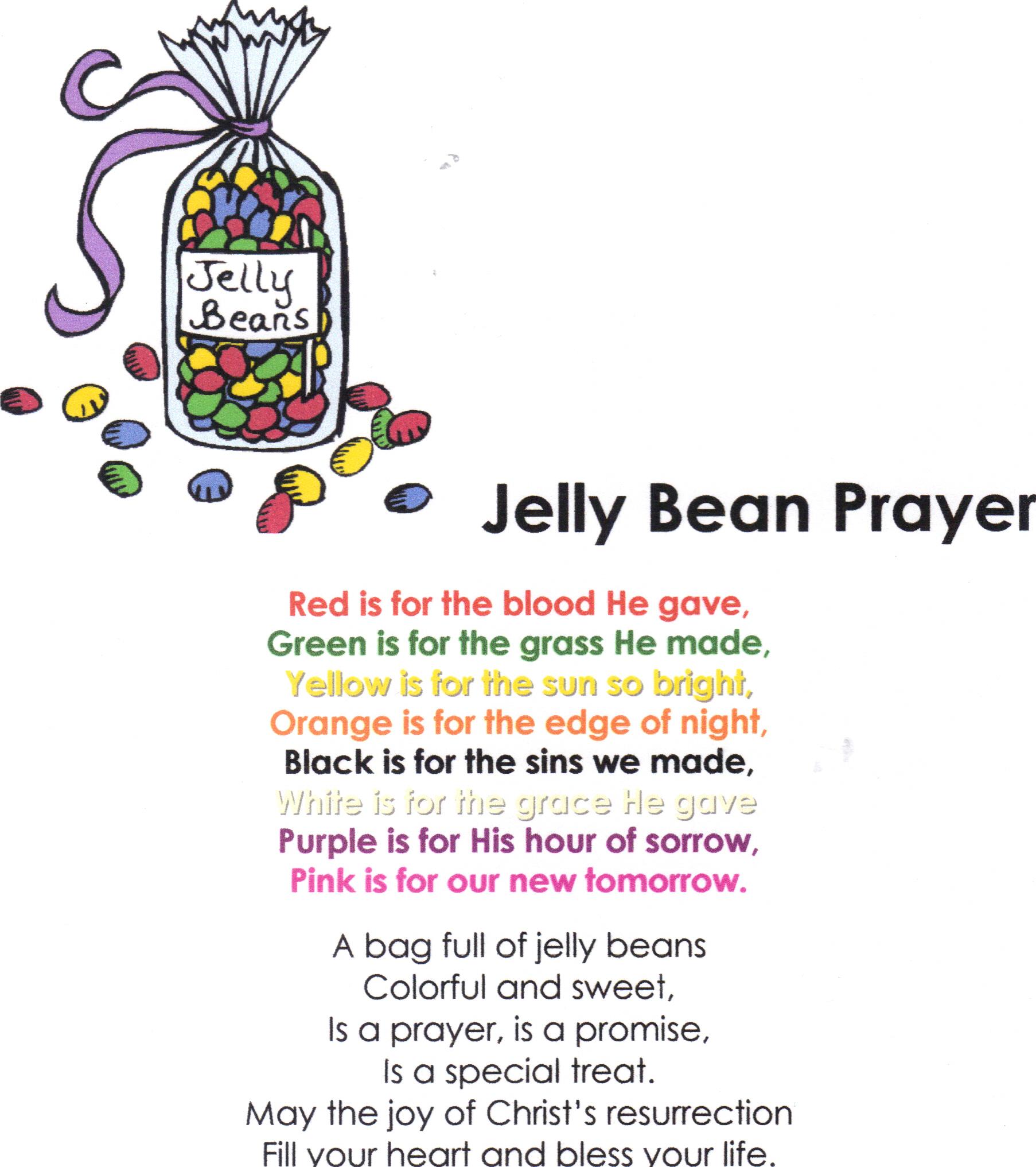 Jelly Bean Prayer