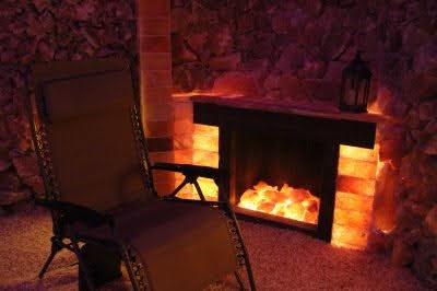 salt cave reiki antigravity chair