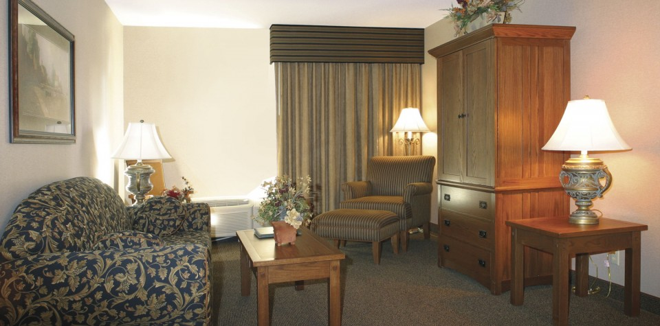 King Kitchenette Hotel Rooms Arrowwood Resort