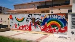 Cración del Mural con tapones 3