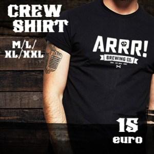 ARRR brewing Co. Crew Shirt