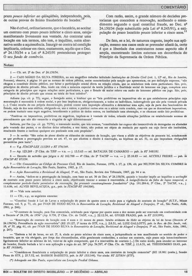 1993-04_DoDireiroàRenovaçãoNosContratosdeLocaçãoComPrazoPoucoInferioraCincoAnos_1_Página_3