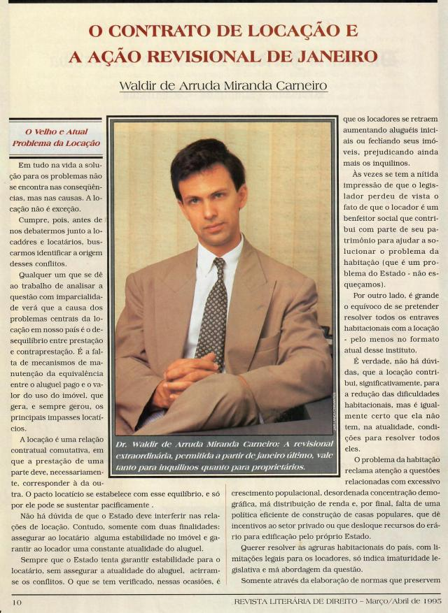 1995-03_OContratodeLocaçãoeaAçãoRevisionaldeJaneiro1
