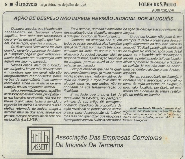 (1996-07-30)_DespejonaoImpedeRevisaoJud