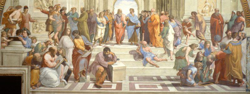 """Bild """"Die Schule von Athen"""" von Raphael"""
