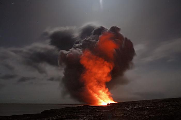 Großbrand am Horizont
