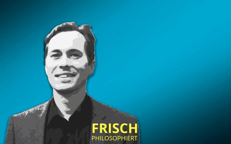"Cover zum Podcast ""Frisch philosophiert"""