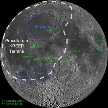 Image result for Procellarum Terrane