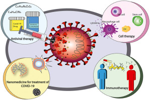 Potential therapeutic agents to COVID-19: An update review on antiviral therapy, immunotherapy, and cell therapy - ScienceDirect