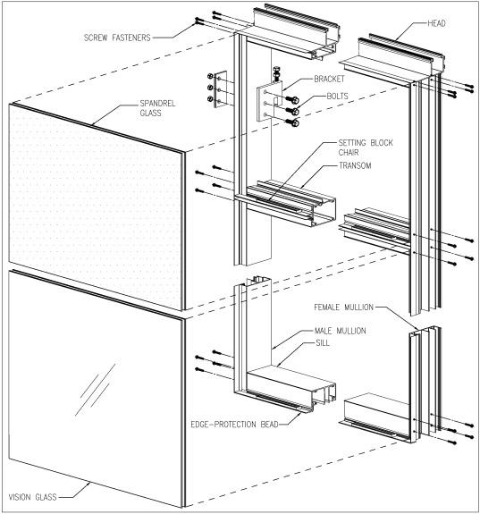 unitized curtain wall facades