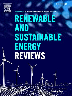 Go to journal home page - Renewable and Sustainable Energy Reviews