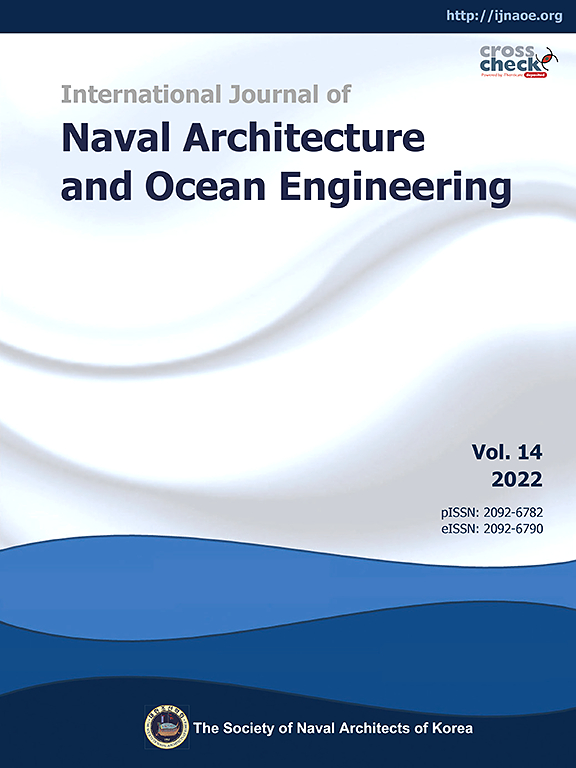 International Journal Of Naval Architecture And Ocean Engineering Sciencedirect Com By Elsevier