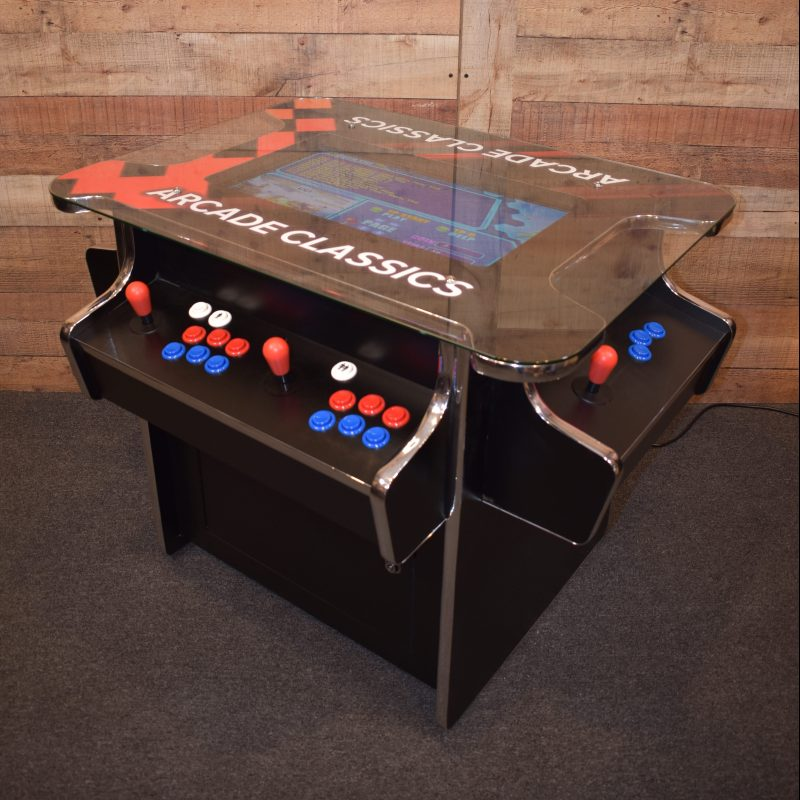 3 sided cacktail arcade