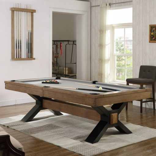 Nichols Pool Table by Plank and Hide