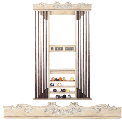 Deluxe Cue Rack 736 Rococo