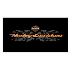 Harley Davidson Radical Flames Billiard Cloth