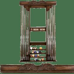 Deluxe Cue Rack 723 Louis XIV