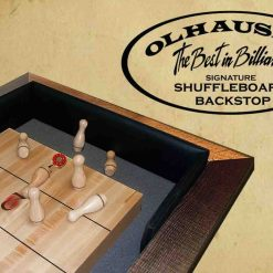Shuffleboard Back Stop