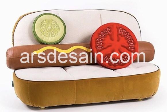 Desain Sofa Kekinian Penggila Kuliner