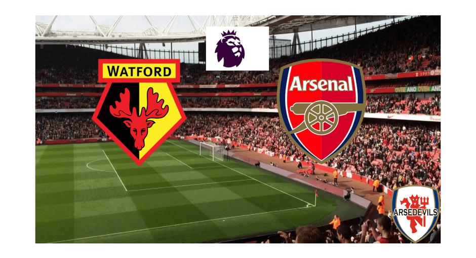 Deeney, watford vs Arsenal