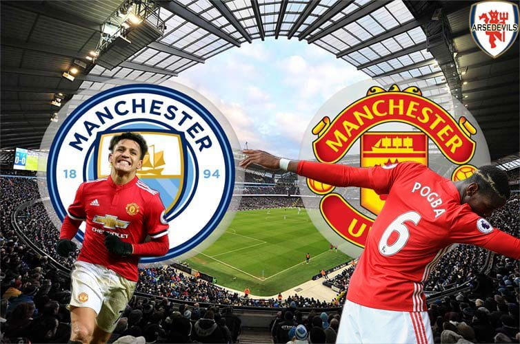 Alexis Sanchez, Manchester Derby, Manchester United vs City, Manchester City derby loss, 3-2 United vs City, Arsedevils