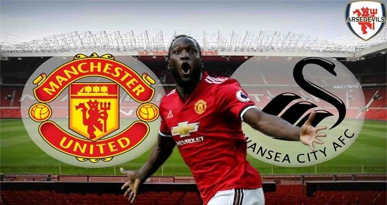 Lukaku, Arsedevils, Manchester United, Swansea, Manchester United Vs Swansea