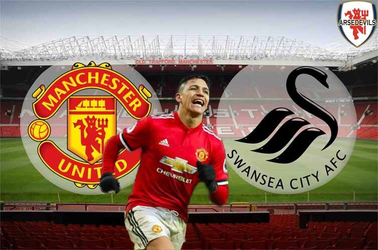 Sanchez, Manchester United, Swansea, Arsedevils, Man Utd Vs Swansea